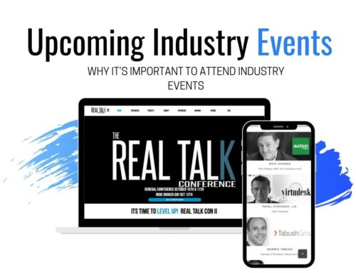 Upcoming Industry Events. Why it's important to attend industry events.