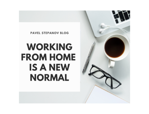 Working from home is a new normal
